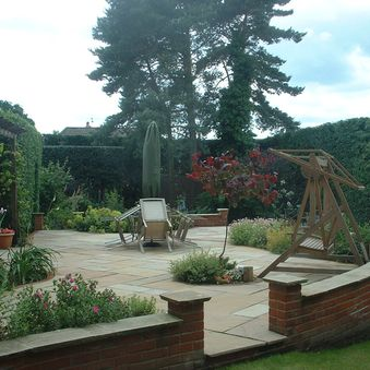 Raised garden in Catton